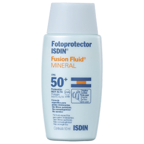 ISDIN Fotoprotector Fusion Fluid Mineral FPS 50 - Protetor Solar Facial 50ml