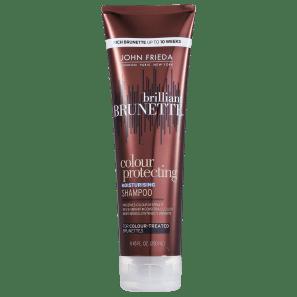 John Frieda Brilliant Brunette Colour Protecting Moisturising - Shampoo 250ml