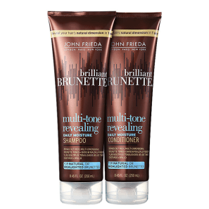 Kit John Frieda Brilliant Brunette Moisturizing Duo (2 Produtos)