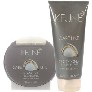 Keune Care Line Golden Blonde Shine Duo Kit (2 Produtos)