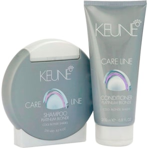 Keune Care Line Platinum Blonde Duo Kit (2 Produtos)