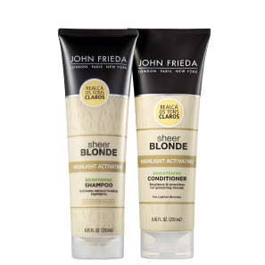 Kit John Frieda Sheer Blonde Duo (2 Produtos)