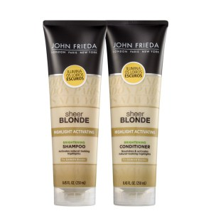 Kit John Frieda Sheer Blonde Highlight Activating Darker Shades Duo (2 Produtos)