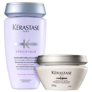 Kit Kérastase Spécifique Antipelliculaire Caspa Seca ou Oleosa (2 Produtos)
