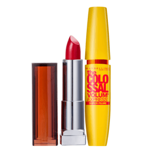 Kit Maybelline The Colossal Color Sensational Vermelho