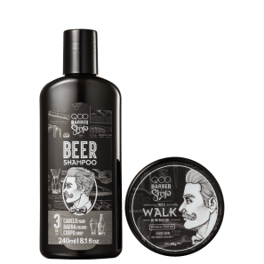 Kit QOD Barber Shop Walk (2 Produtos)