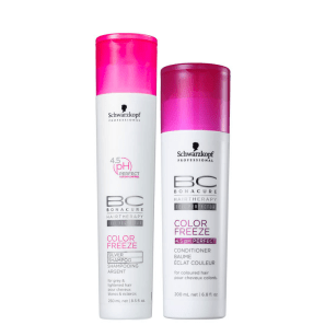 Kit Schwarzkopf Professional BC Bonacure Color Freeze Silver Duo (2 Produtos)