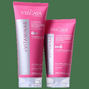 Kit Vizcaya Brilho e Vitaminas Duo (2 Produtos)