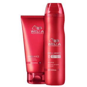 Kit Wella Professionals Brilliance Duo (2 Produtos)