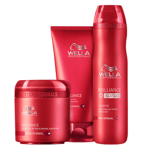Kit Wella Professionals Brilliance Intense (3 Produtos)