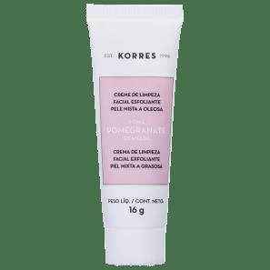 Korres Pomegranate - Creme de Limpeza Esfoliante 16g
