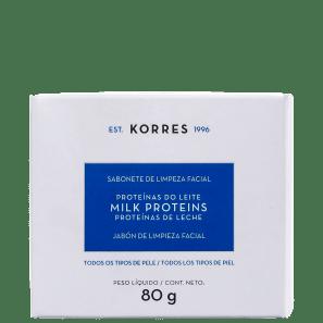 Korres Proteínas do Leite - Sabonete Líquido Facial 80g