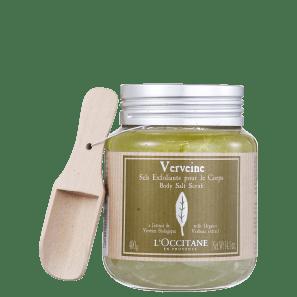 L'Occitane Verveine Sels Exfoliants - Sais Esfoliantes de Banho 400g