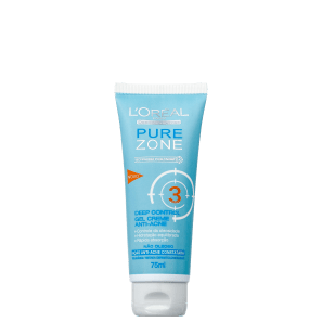 L'Oréal Paris Dermo-Expertise Pure Zone Deep Control - Hidratante Antiacne 75ml