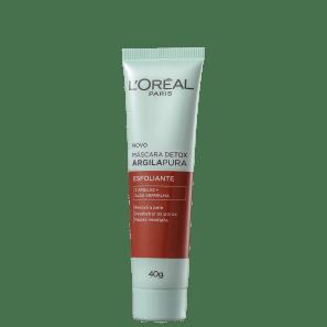 L'Oréal Paris Detox Argila Pura - Máscara Esfoliante 40g
