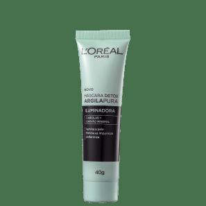 L'Oréal Paris Detox Argila Pura - Máscara Iluminadora 40g