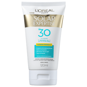 L'Oréal Paris Solar Expertise Supreme Protect 4 FPS 30 - Protetor Solar Facial 120ml