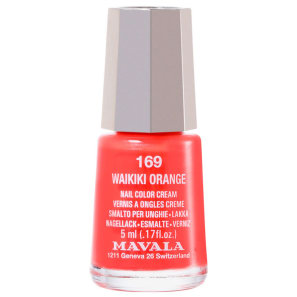 Mavala Art Colours Waikiki Orange - Esmalte Cremoso 5ml