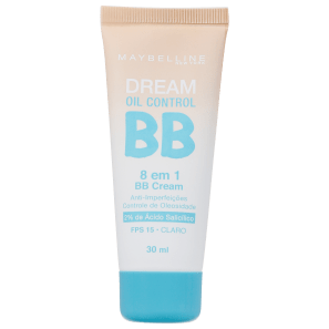 Maybelline Dream Oil Control 8 em 1 FPS 15 Claro - BB Cream 30ml