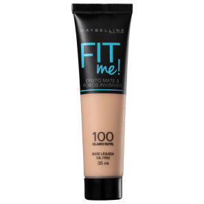 Maybelline Fit Me! Toque Matte + Fresh 100 - Base Líquida 35ml