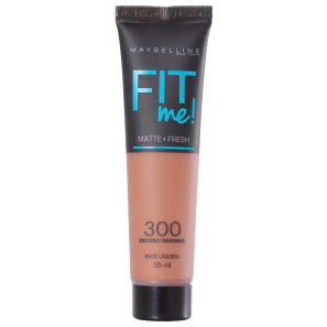 Maybelline Fit Me! Toque Matte + Fresh 300 - Base Líquida 35ml