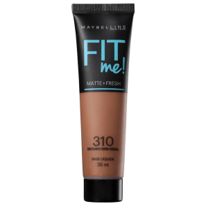 Maybelline Fit Me! Toque Matte + Fresh 310 - Base Líquida 35ml