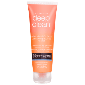 Neutrogena Deep Clean Grapefruit - Sabonete Líquido Facial 80g