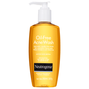 Neutrogena Oil Free Acne Wash - Sabonete Líquido para Acne 200ml