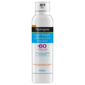 Neutrogena Sun Fresh Effervescent FPS 60 - Protetor Solar em Mousse 200ml