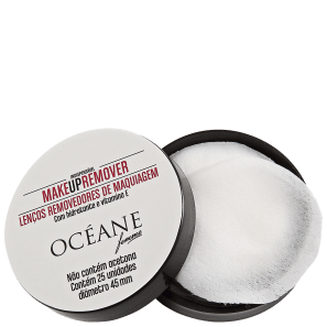 Océane Make Up Remover - Lenço Demaquilante (25 unidades)