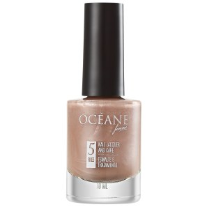 Océane Nail Lacquer And Care Caramel Shell - Esmalte Perolado 10ml