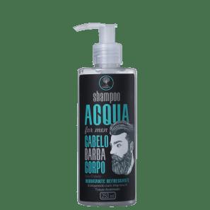 Orgânica Acqua For Men 3 em 1 - Shampoo 250ml
