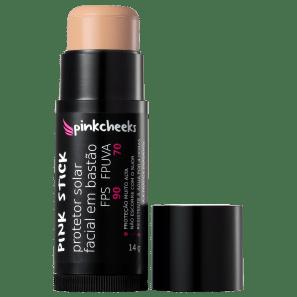 Pink Cheeks Pink Stick 15KM FPS 90 - Protetor Solar com Cor 14g