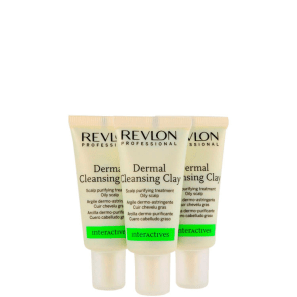Revlon Professional Scalp Balance Dermal Cleansing Clay - Tratamento 3x18ml