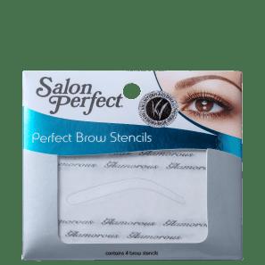 Salon Perfect Brow Stencil - Molde para Sobrancelhas 4un