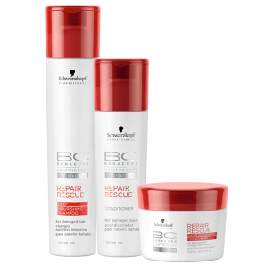 Schwarzkopf Professional BC Bonacure Repair Rescue Deep Nourishing Trio Kit (3 Produtos)