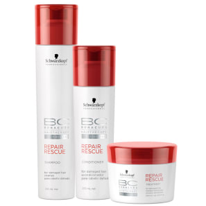 Schwarzkopf Professional BC Bonacure Repair Rescue Trio Kit (3 Produtos)