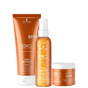 Kit Schwarzkopf Professional BC Bonacure Sun Protect Shimmer Treatment (3 Produtos)