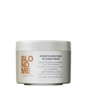 Schwarzkopf Professional BlondMe Keratin Restore - Máscara de Reconstrução 200ml