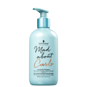 Schwarzkopf Professional Mad About Curls Low Foam Cleanser - Shampoo Co-Wash 300ml