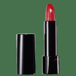 Shiseido Rouge Rouge RD308 Toffee Apple Vermelho - Batom Cremoso 4g