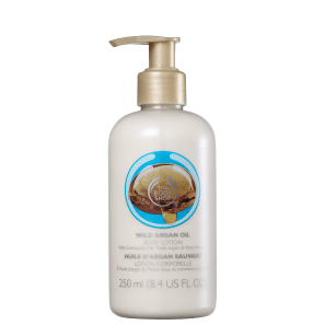 The Body Shop Wild Argan Oil - Loção Hidratante Corporal 250ml