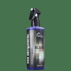 Tratamento Reconstrutor Uso Obrigatório Blond Truss