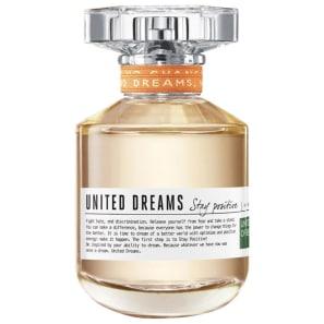 United Dreams Stay Positive Benetton Eau de Toilette - Perfume Feminino 80ml