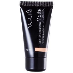 Vult Make Up Efeito Matte 04 Bege - Base Líquida 26ml