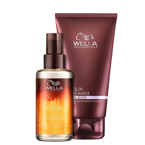 Kit Wella Professionals Oil Reflections Platinum (2 Produtos)