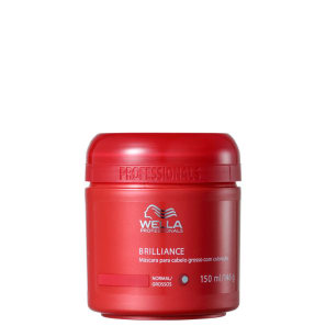 Wella Professionals Brilliance Coarse Hair - Máscara Capilar 150ml