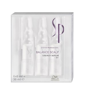 SP System Professional Balance Scalp Energy Serum - Tratamento 6x6ml