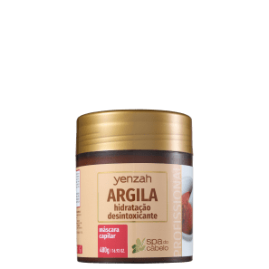 Yenzah SPA dos Cabelos Argila - Máscara Capilar 480g