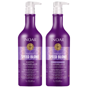 Kit Inoar Absolut Speed Blond (2 Produtos)